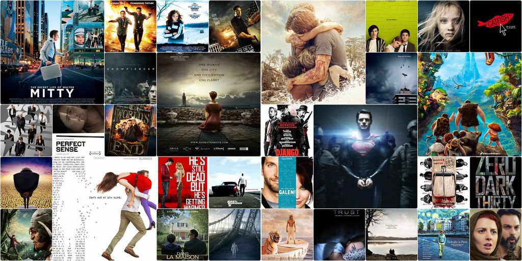 The top films of 2013