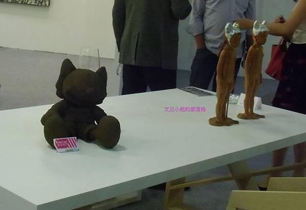詹志評的木雕作品