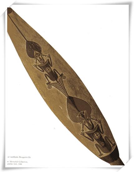 木雕划槳 (非洲)