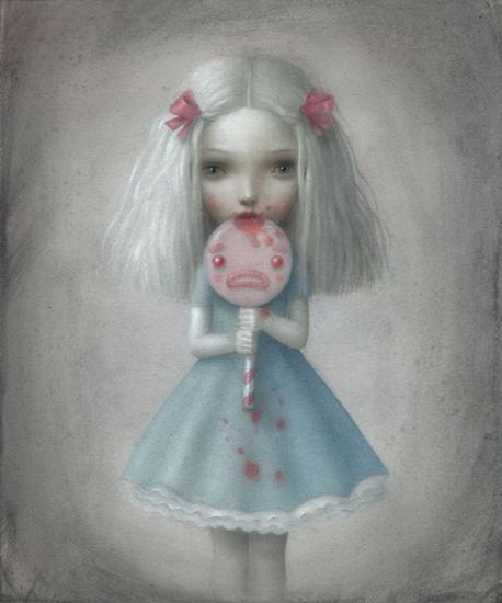Dolceamara by Nicoletta Ceccoli