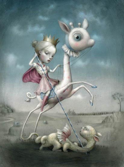 The-Princess-and-the-Prey-by-Nicoletta-Ceccoli