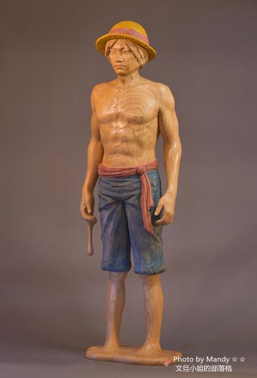 當代藝術家 ~ 詹志評的木雕作品:探索的帽子