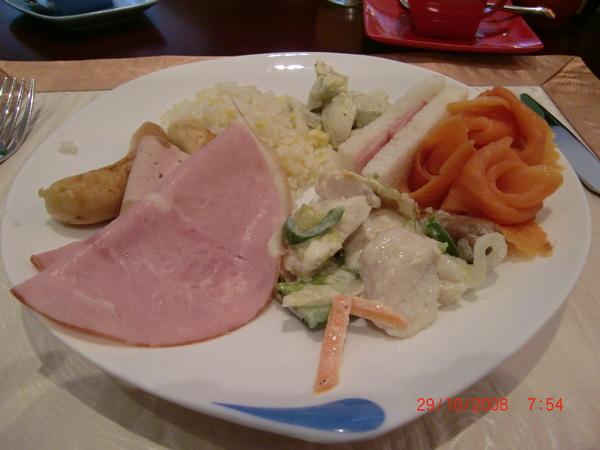 29 Oct 08 ~ My Buffet Breakfast