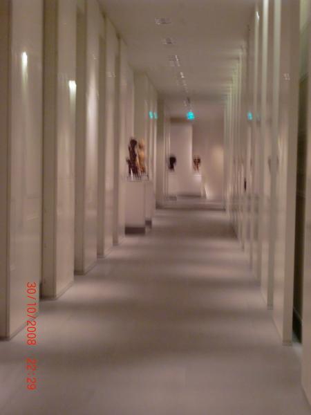 Pudong Park Hyatt 的走廊