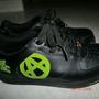 螢光綠波鞋