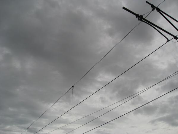 灰濛濛的天空