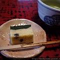 飯後甜點:抹茶蛋糕