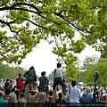 葵祭現場之一:京都御所
