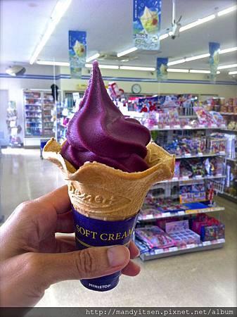 葡萄霜淇淋