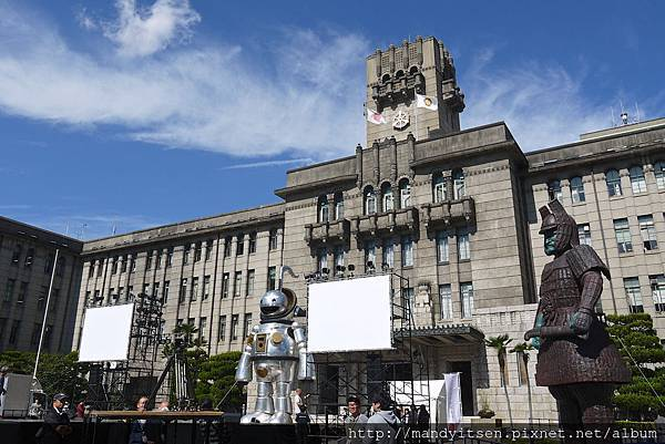 大魔神在京都市役所