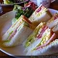 小川珈琲直營店早餐:三明治