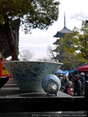 弘法市集之日用瓷器攤位