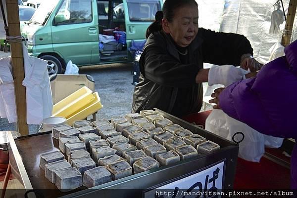 弘法市集之和菓子攤位