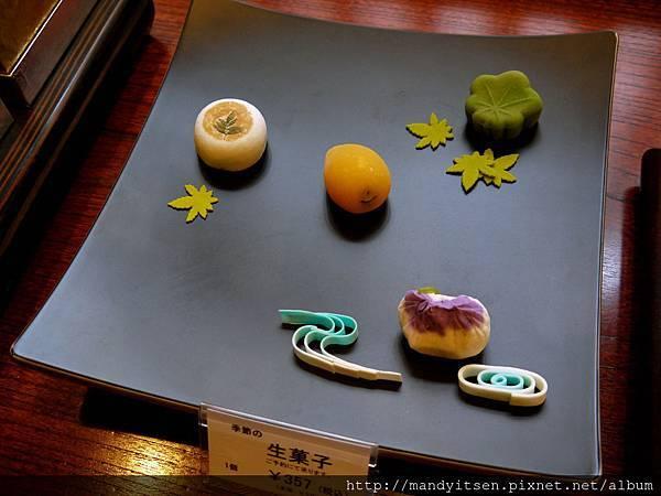 大極殿的初夏生菓子乾菓子