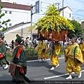 葵祭:勅使列的風流傘