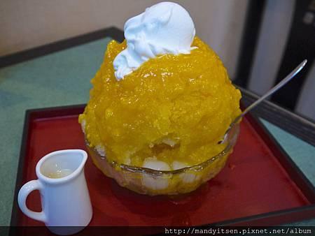 熱帶芒果刨冰
