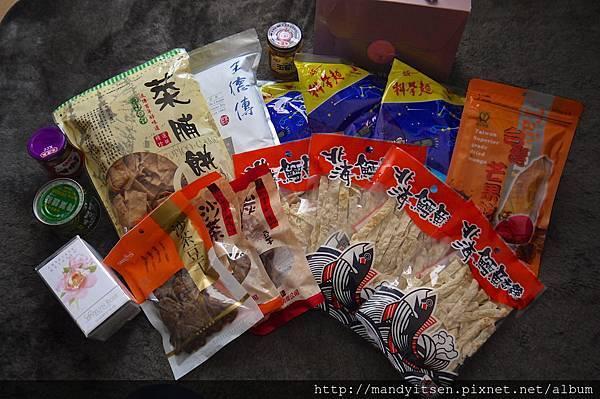 台灣零嘴與罐頭