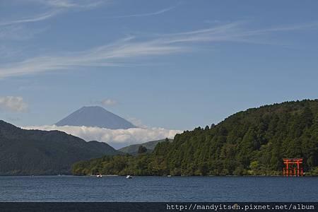蘆之湖與富士山