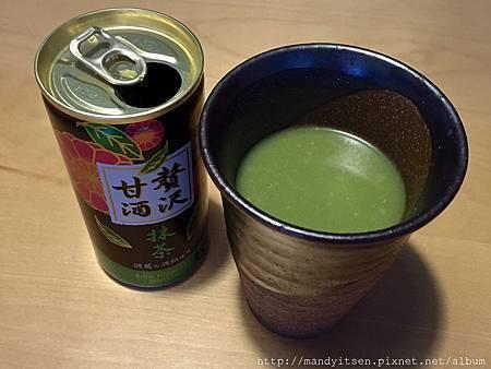 新品上市:抹茶甘酒