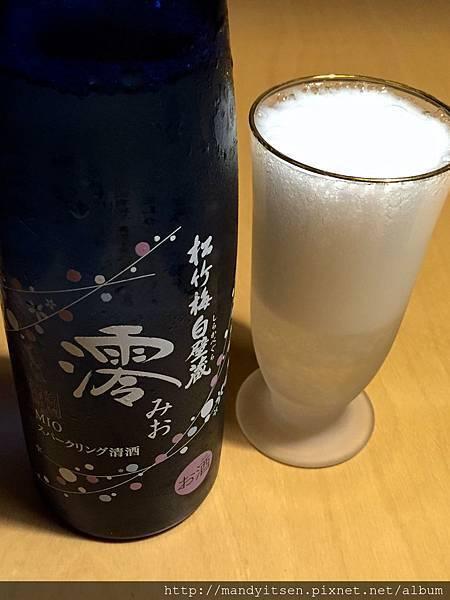 氣泡清酒「澪」