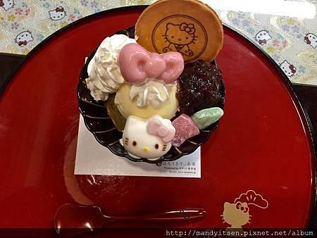 Hello Kittyおしゃれパフェ(聖代)