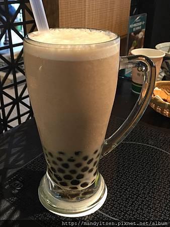 翰林茶館珍珠奶茶