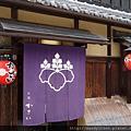 祇園茶屋かさい的暖簾