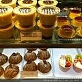 東洋亭的甜點櫥窗