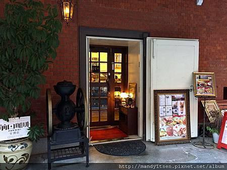 前田咖啡文博店入口
