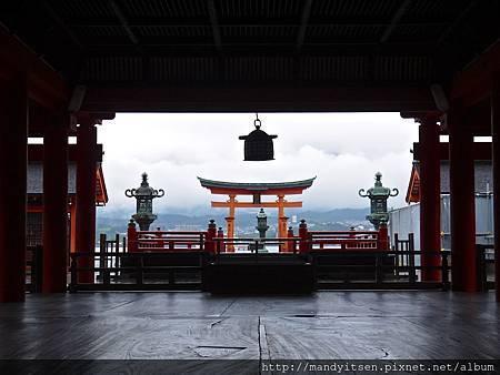 嚴島神社祓殿