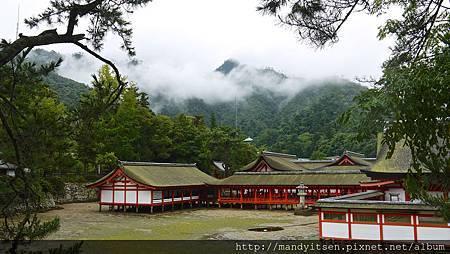 嚴島神社,充滿仙氣