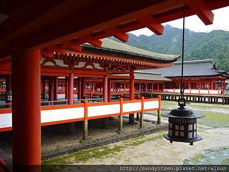 嚴島神社青銅製釣燈籠