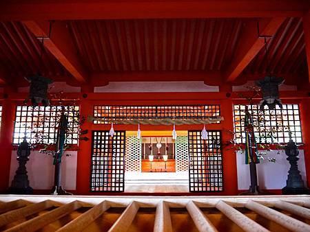 嚴島神社御本社拝殿