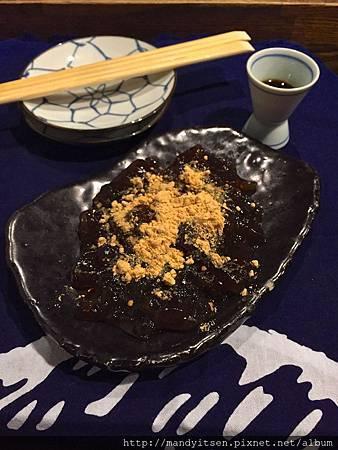 寅屋甜點:わらび餅