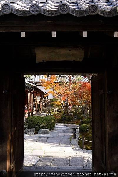 圓光寺十牛之庭入口