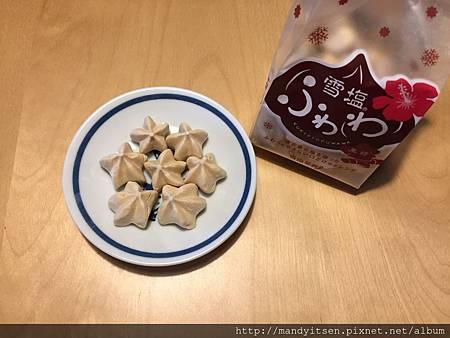 沖繩雪塩黑糖燒菓子
