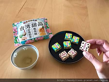 最新版チロルチョコ(台灣甜品口味)