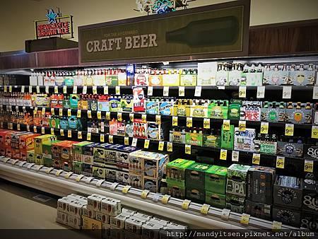 美國啤酒口味繁多又便宜