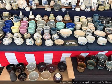 宇治炭山陶器市集