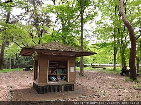 京都御苑「森之文庫」