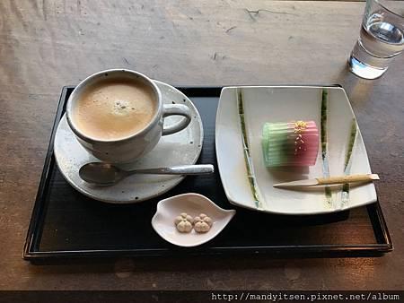 附設カフェ(茶席)