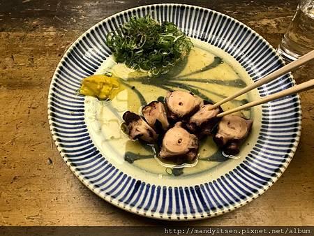 在「蛸長」吃蛸(tako,章魚)