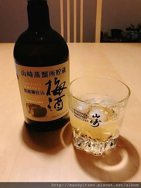 山崎焙煎樽熟成梅酒