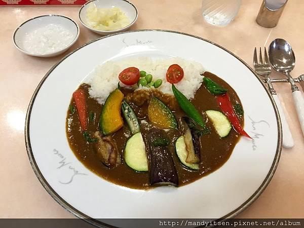 San Marco的季節野菜咖哩