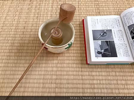 建水、柄杓與蓋置