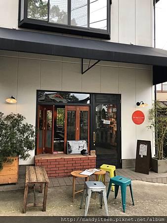 vermillion cafe 2號店外觀