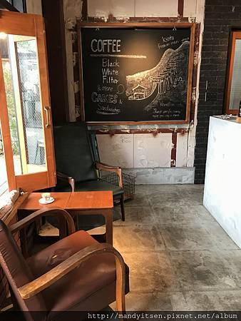 vermillion cafe 2號店內部