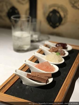 甜點:仙楂冰沙