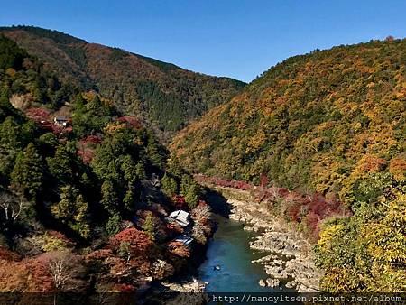 嵐山展望台的view