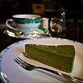 らん布袋名物:抹茶起司蛋糕